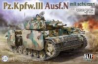 タコムBLITZ3号戦車 N型 w/シュルツェン