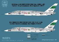 RA-5C ヴィジランティ RVAH-9 USS ニミッツ 1976-77年 デカール