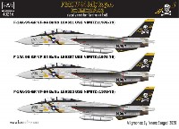 F-14A トムキャット VF-84 ジョリーロジャース USS ニミッツ 1978-79年 (タミヤ用) デカール