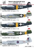 メッサーシュミット Bf108 タイフン デカール