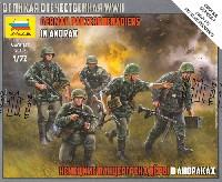 ズベズダART OF TACTICドイツ 装甲擲弾兵 アノラック着用