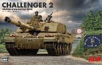 ライ フィールド モデル1/35 Military Miniature Seriesイギリス 主力戦車 チャレンジャー 2 w/連結組立可動式履帯