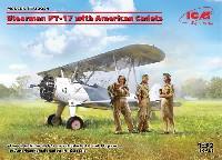 ステアマン PT-17 w/女性士官候補生