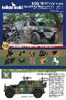 トワイライトモデルデカール陸上自衛隊 軽装甲機動車 (LAV) デカールセット