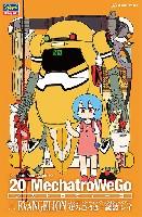 20 メカトロウィーゴ エヴァコラボシリーズ Vol.1 ぜろごうき + 綾波レイ