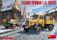 ミニアート1/35 ミニチュアシリーズL1500S ドイツ 1.5t トラック