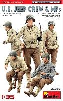 ミニアート1/35 WW2 ミリタリーミニチュアアメリカ ジープクルー & MP スペシャルエディション