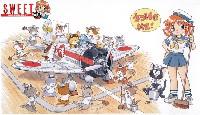 九六艦戦 空母戦闘機隊の飛行甲板セット