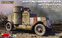 ミニアートWW1 ミリタリーミニチュアオースチン装甲車 1918年型 イギリス軍 西部戦線 インテリアキット