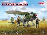 フィアット CR.42 LW w/ドイツパイロット