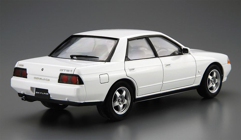 ニッサン HCR32 スカイライン GTS-t タイプM '89プラモデル(アオシマ1/24 ザ・モデルカーNo.032)商品画像_3