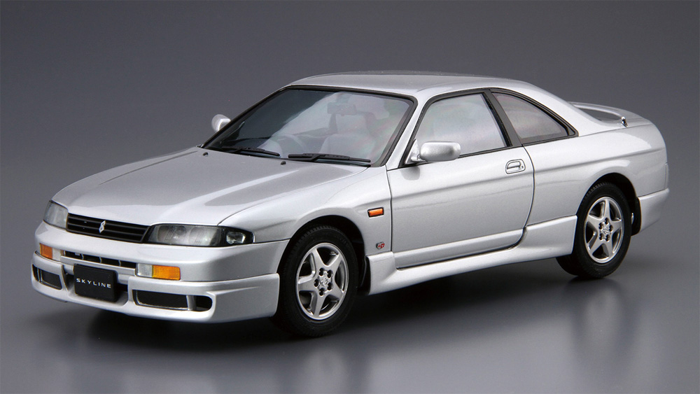 ニッサン ECR33 スカイライン GTS25t タイプM '94プラモデル(アオシマ1/24 ザ・モデルカーNo.094)商品画像_2