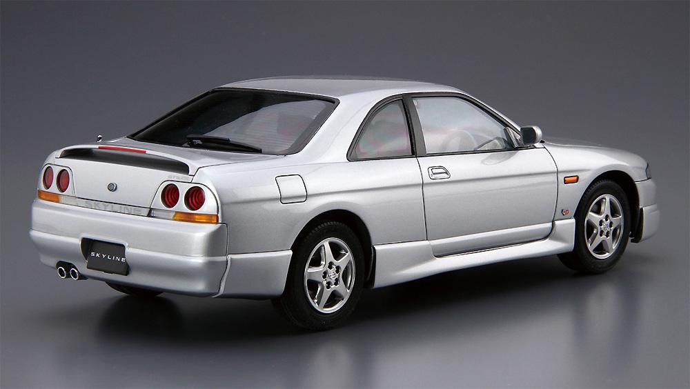 ニッサン ECR33 スカイライン GTS25t タイプM '94プラモデル(アオシマ1/24 ザ・モデルカーNo.094)商品画像_3