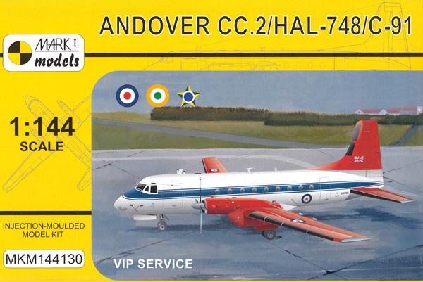 アンドーヴァー CC.2/HAL-748/C-91 VIP機プラモデル(MARK 1MARK 1 modelsNo.MKM144130)商品画像