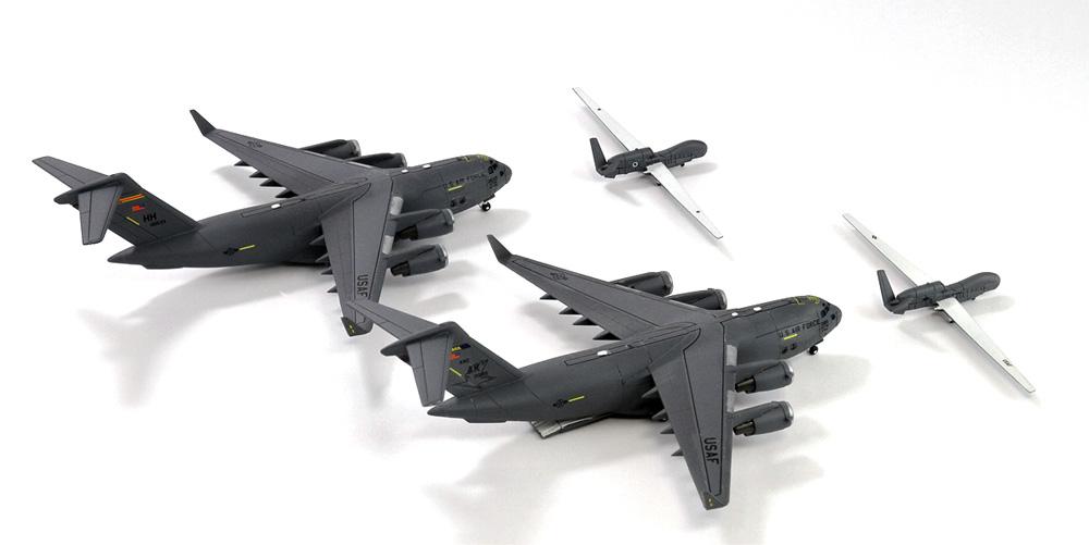 アメリカ空軍機セット 4プラモデル(ピットロードスカイウェーブ S シリーズNo.S058)商品画像_4