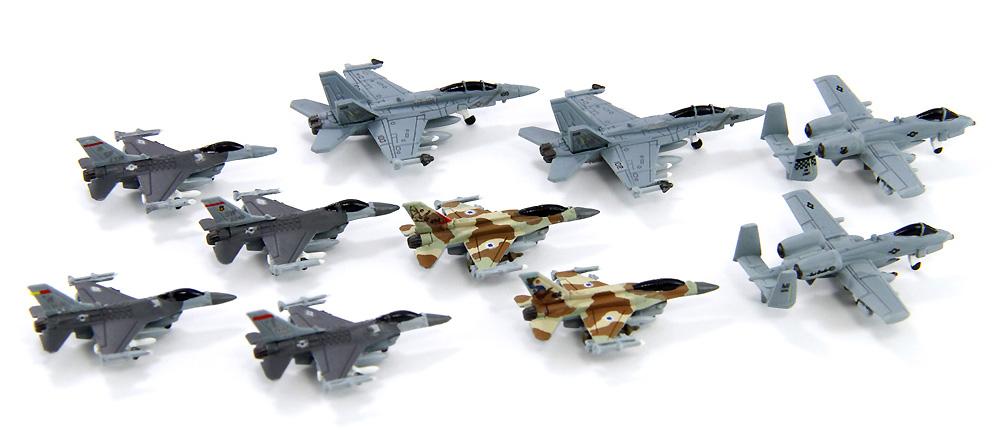 現用アメリカ 軍用機セット 2プラモデル(ピットロードスカイウェーブ S シリーズNo.S059)商品画像_4