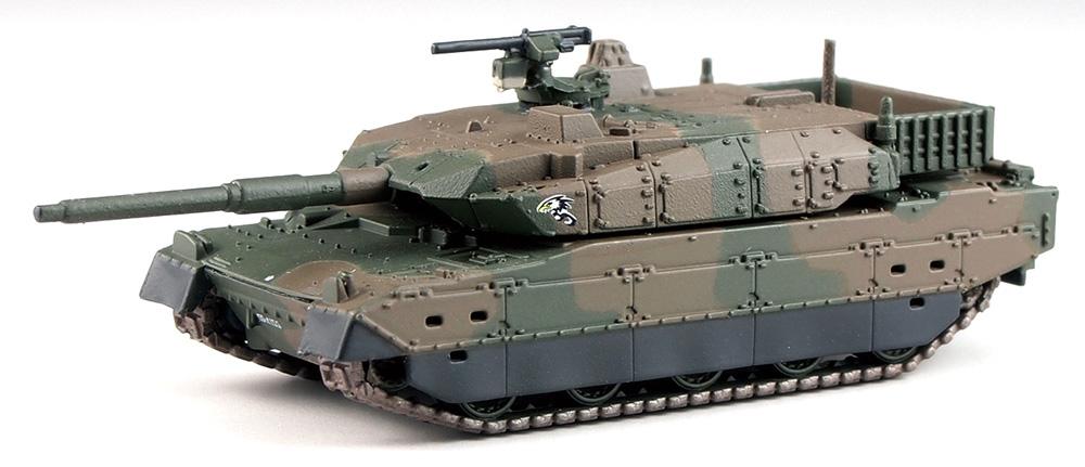 陸上自衛隊 10式戦車 (3両入り)プラモデル(ピットロード1/144 スモールグランドアーマー シリーズNo.SGK003)商品画像_2