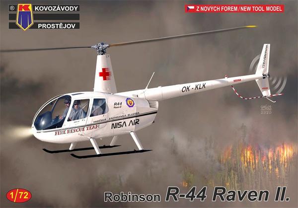 ロビンソン R44 レイブン 2プラモデル(KPモデル1/72 エアクラフト プラモデルNo.KPM0215)商品画像