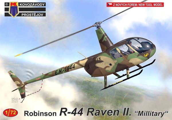 ロビンソン R44 レイブン 2 軍用機プラモデル(KPモデル1/72 エアクラフト プラモデルNo.KPM0216)商品画像
