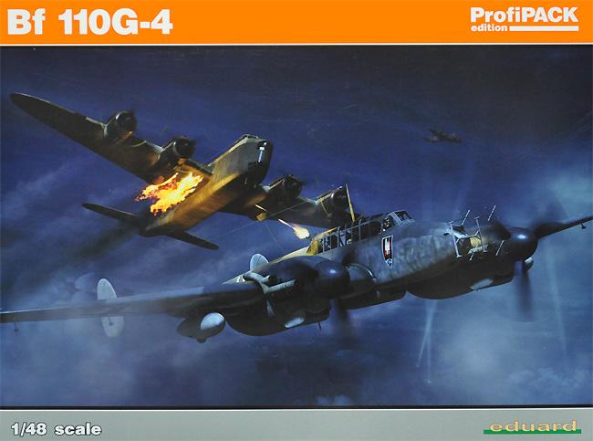 メッサーシュミット Bf110G-4プラモデル(エデュアルド1/48 プロフィパックNo.8208)商品画像