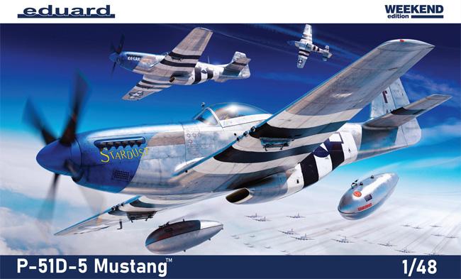 P-51D-5 マスタングプラモデル(エデュアルド1/48 ウィークエンド エディションNo.84172)商品画像