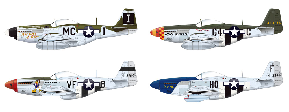 P-51D-5 マスタングプラモデル(エデュアルド1/48 ウィークエンド エディションNo.84172)商品画像_3