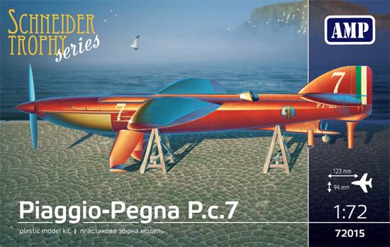 ピアッジョ ペグナ P.c.7 シュナイダー トロフィープラモデル(AMP1/72 プラスチックモデルNo.72015)商品画像
