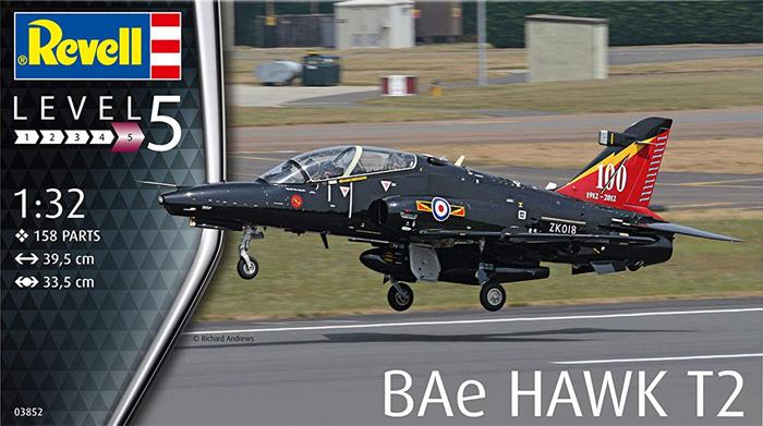 BAe ホーク T2プラモデル(レベル1/32 AircraftNo.03852)商品画像