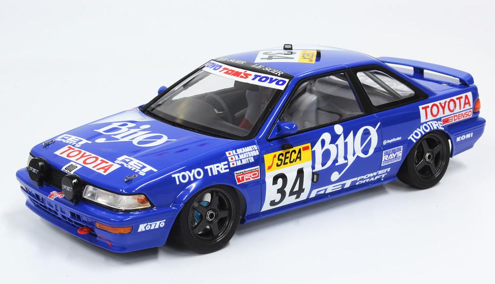 トヨタ カローラ レビン AE92 1989 スパ24時間レースプラモデル(NuNu1/24 レーシングシリーズNo.PN24016)商品画像_2