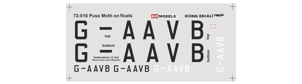 デ・ハビランド DH.80A プス・モス  水上機プラモデル(AVIモデル1/72 エアクラフト プラモデルNo.AVI72016)商品画像_2