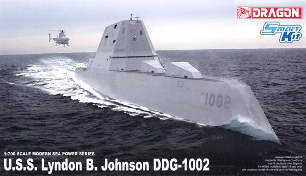 アメリカ海軍 ズムウォルト/マイケル・モンスーア/リンドン B. ジョンソン 3in1キットプラモデル(ドラゴン1/700 Modern Sea Power SeriesNo.7148)商品画像