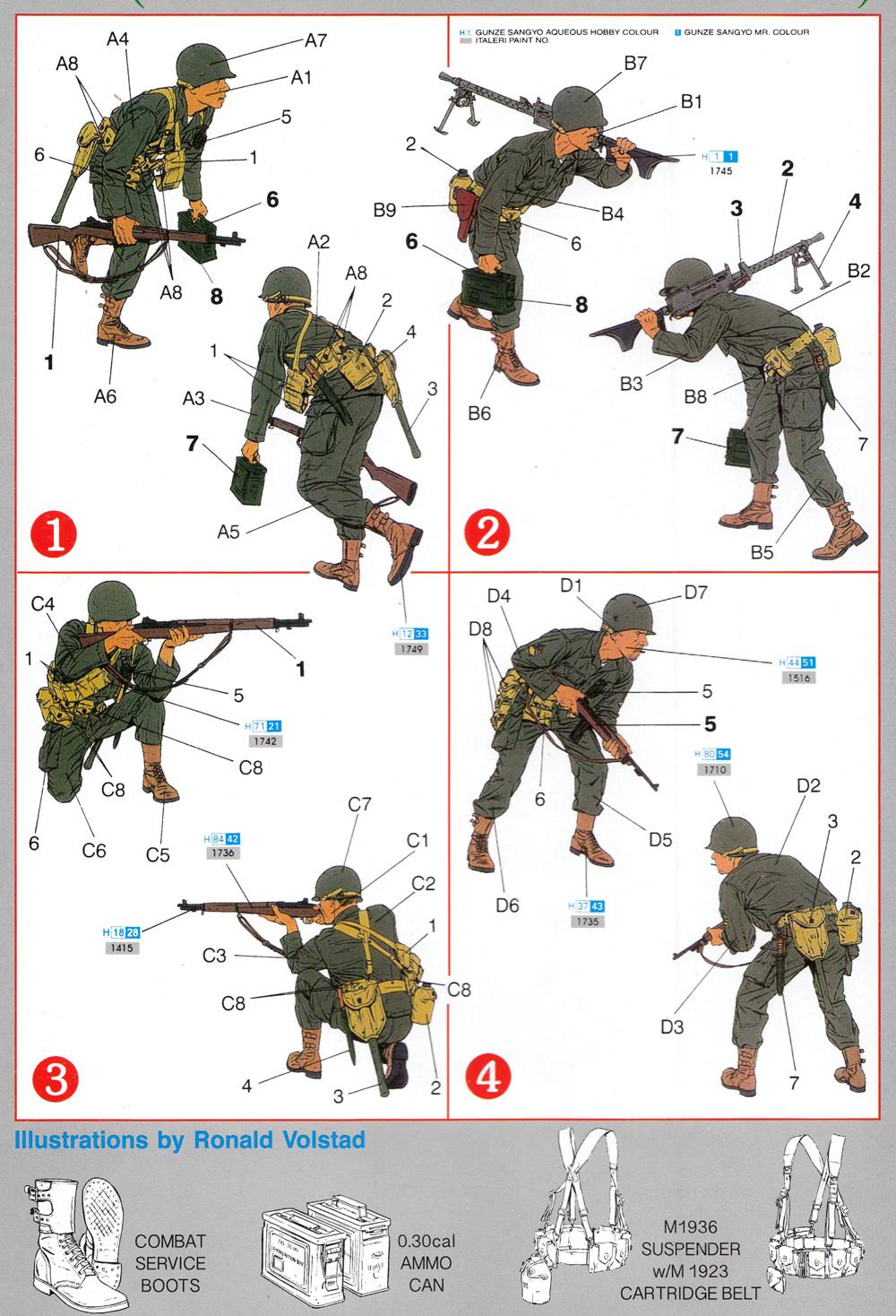 アメリカ軍 G.I. 朝鮮戦争 釜山軍事防衛境界線 1950プラモデル(ドラゴン1/35 Korean War SeriesNo.6808)商品画像_1