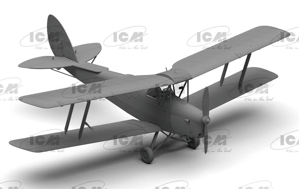 デ・ハビランド DH.82A タイガーモス イギリス練習機プラモデル(ICM1/32 エアクラフトNo.32035)商品画像_2