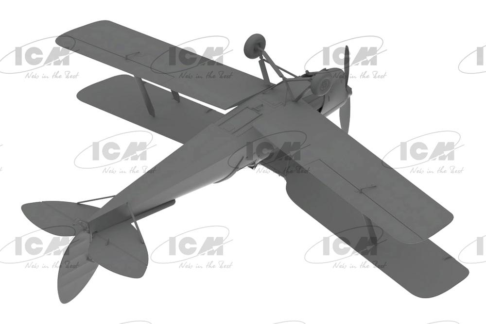 デ・ハビランド DH.82A タイガーモス イギリス練習機プラモデル(ICM1/32 エアクラフトNo.32035)商品画像_4