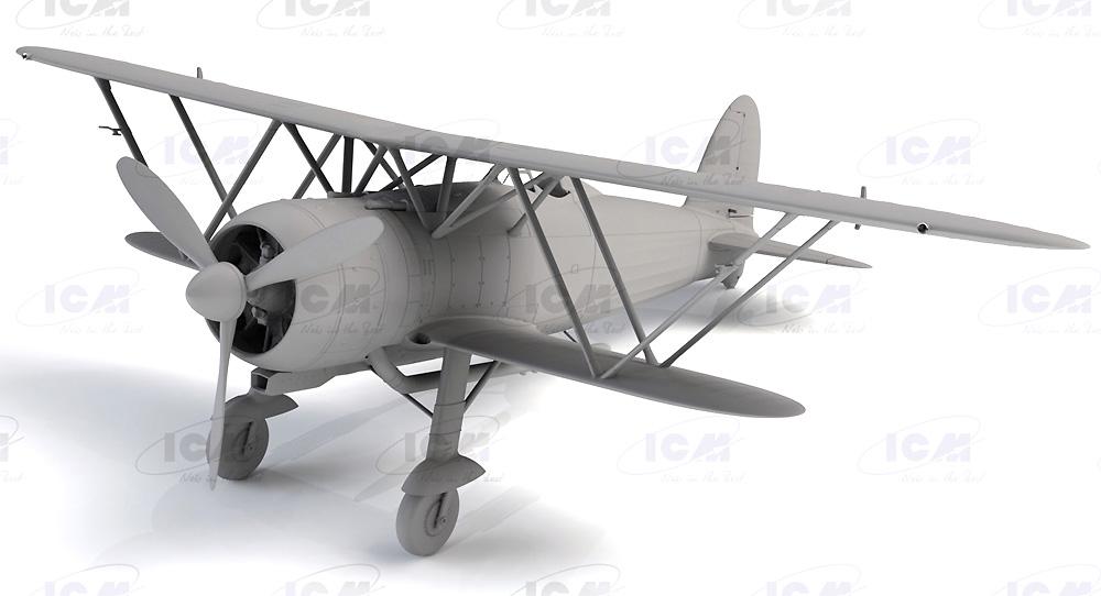 フィアット CR.42 ファルコ WW2 イタリア戦闘機プラモデル(ICM1/32 エアクラフトNo.32020)商品画像_2