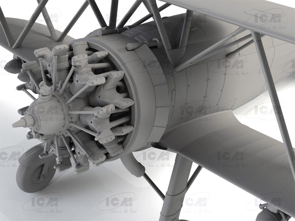 フィアット CR.42 ファルコ WW2 イタリア戦闘機プラモデル(ICM1/32 エアクラフトNo.32020)商品画像_4