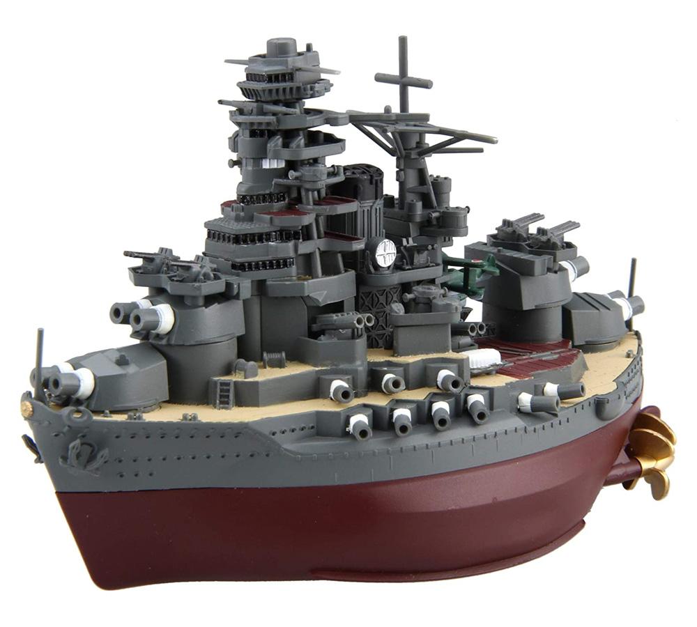 ちび丸艦隊 陸奥 特別仕様 エッチングパーツ付きプラモデル(フジミちび丸艦隊 シリーズNo.ちび丸-034EX-001)商品画像_2
