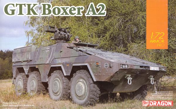 GTK ボクサー A2 装輪装甲車プラモデル(ドラゴン1/72 ARMOR PRO (アーマープロ)No.7680)商品画像