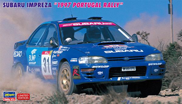 スバル インプレッサ 1997 ポルトガル ラリープラモデル(ハセガワ1/24 自動車 限定生産No.20483)商品画像