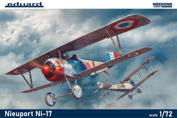 ニューポール Ni-17プラモデル(エデュアルド1/72 ウィークエンド エディションNo.7404)商品画像