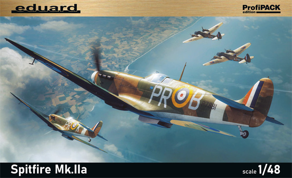 スピットファイア Mk.2aプラモデル(エデュアルド1/48 プロフィパックNo.82153)商品画像