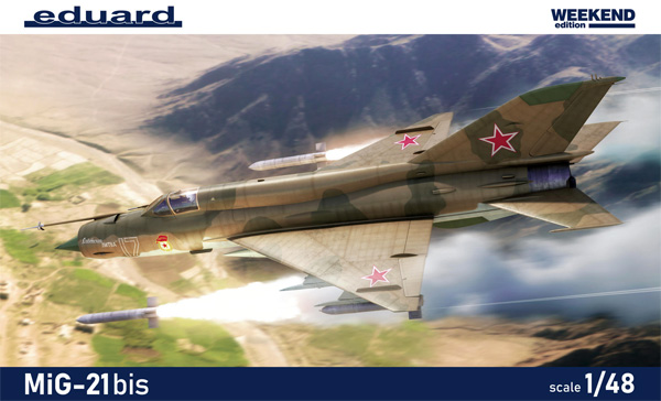MiG-21bisプラモデル(エデュアルド1/48 ウィークエンド エディションNo.84130)商品画像