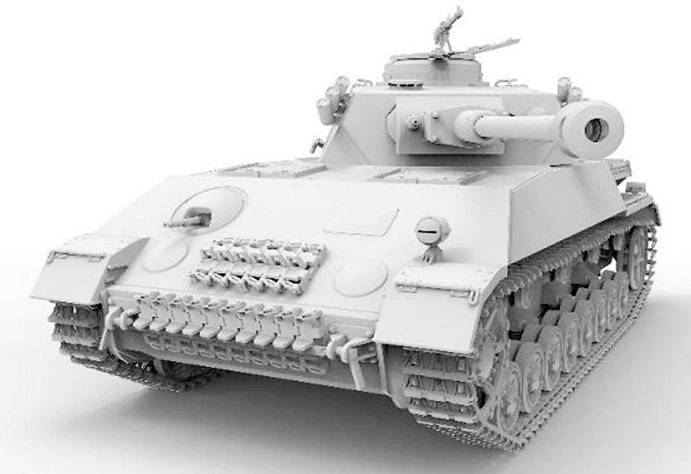 4号戦車H型 クルップ計画型プラモデル(アミュージングホビー1/35 ミリタリーNo.35A037)商品画像_2
