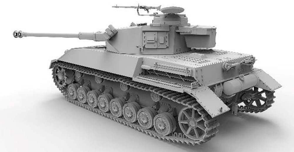 4号戦車H型 クルップ計画型プラモデル(アミュージングホビー1/35 ミリタリーNo.35A037)商品画像_3