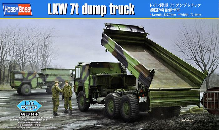 ドイツ陸軍 7t ダンプトラックプラモデル(ホビーボス1/35 ファイティングビークル シリーズNo.85520)商品画像