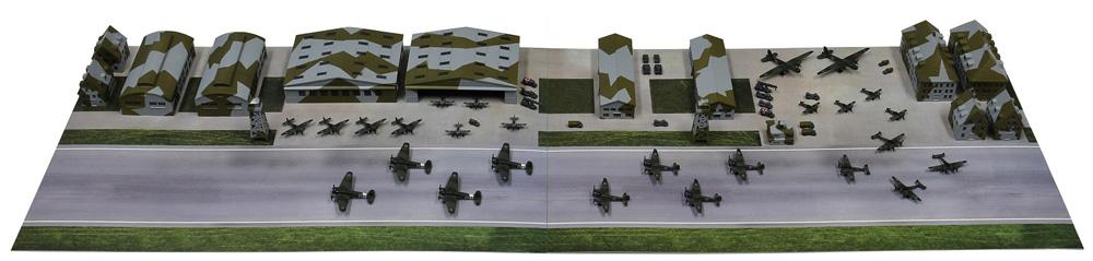 WW2 ドイツ空軍基地プラモデル(ピットロードスカイウェーブ S シリーズNo.SPS012)商品画像_1