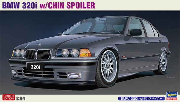 BMW 320i w/チンスポイラープラモデル(ハセガワ1/24 自動車 限定生産No.20491)商品画像