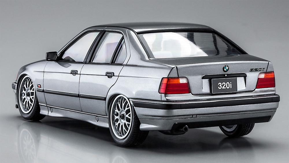 BMW 320i w/チンスポイラープラモデル(ハセガワ1/24 自動車 限定生産No.20491)商品画像_3