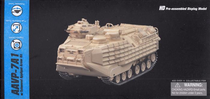 アメリカ海兵隊 AAVP-7A1 w/EAAK装備 デザートイエロー完成品(ドラゴン1/72 NEO DRAGON ARMOR (ネオ ドラゴンアーマー)No.63019)商品画像