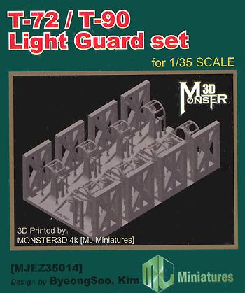 T-72/T-90戦車 ライトガードセットプラモデル(MJ ミニチュア3Dプリンタ キットNo.MJEZ35014)商品画像